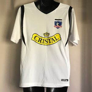 Youth Large Colo-Colo Chile Soccer Futbol Jersey